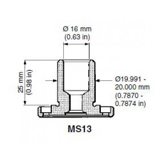 CMM probe shank MS13