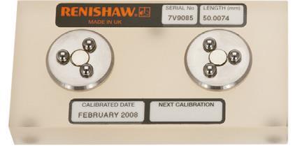 50 mm Zerodur® Calibrator (small circle accessory kit)