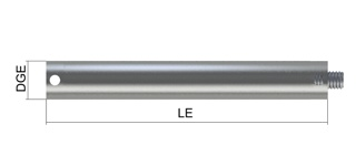 M3 Stainless Steel Stylus Extension